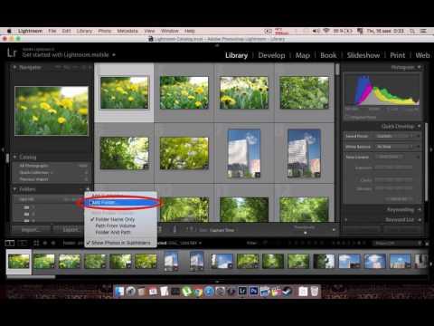 как добавить фото в лайтрум