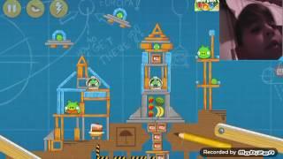 Jugando angry birds parte 1