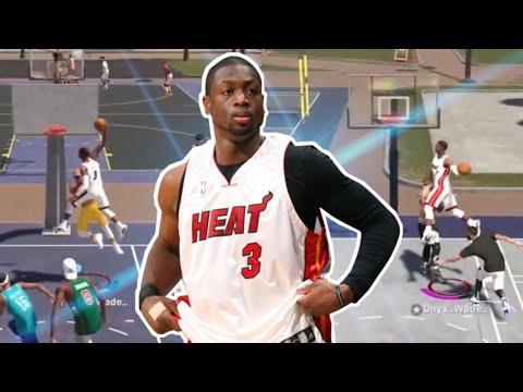 DWYANE WADE CRAZY CONTACT DUNKS AND ALLEYS !!! NBA 2K19