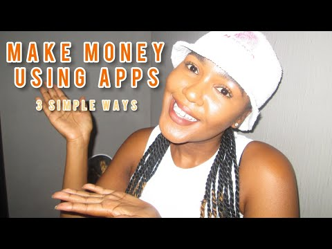 HOW TO MAKE MONEY ONLINE IN SOUTH AFRICA USING APPS   Angel Ndaba