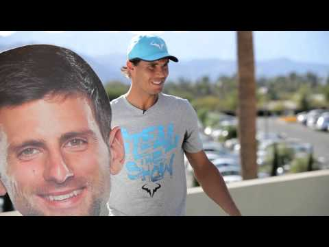 BNP Paribas Open: Tennis' Face-Off Game Show