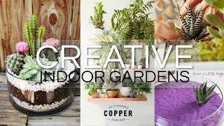20 Creative Indoor Garden Ideas