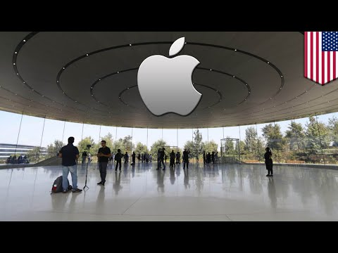 Apple headquarters: Workers keep walking into glass and calling 911 - TomoNews