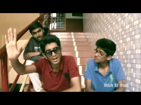 Montfort School Anakkara dubsmash by XI boys of MSA