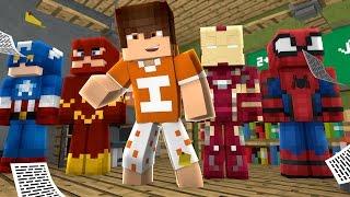 Minecraft: MONTANDO UM HERÓI - Caminho De Heróis  ‹ Ine ›