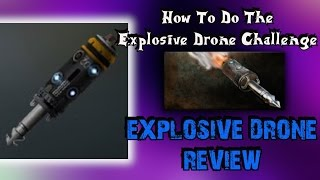 "Advanced Warfare ""Explosive Drone Review"" (""Explosive Drone Challenge"")"