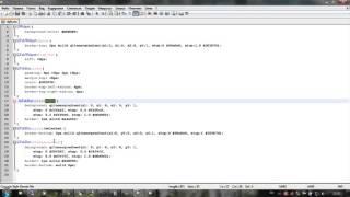 Назначение css визуальным компонентам Qt