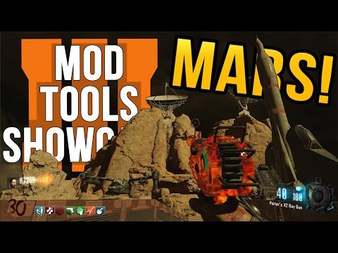 Black Ops 3 Zombies on Mars | Black Ops 3 Mod Tools Showcase Mars Custom Map