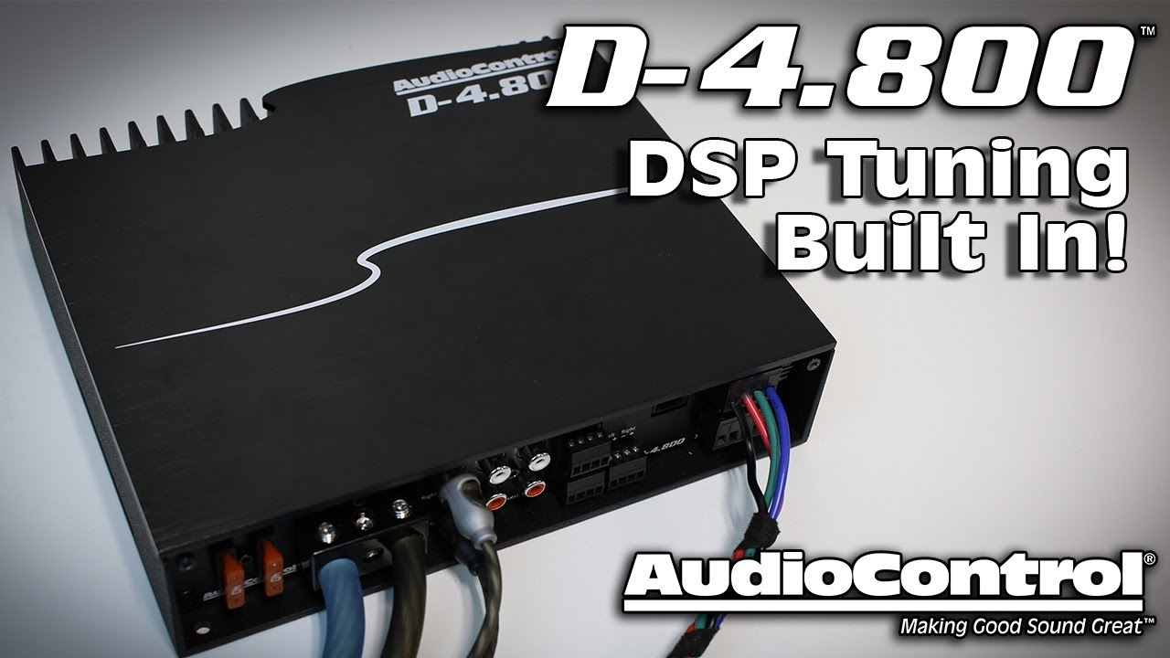 D 4800 Dsp Amplifier Tuning Flexibility For Audio Perfection 4 Ohm Subwoofer Wiring Diagram