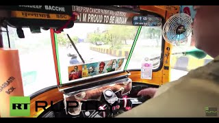 India: Travel first-class on new luxury rickshaw ... for a good cause