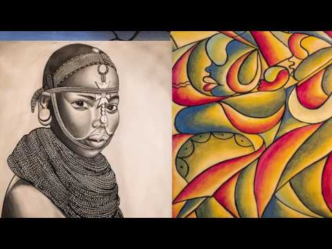 Tribal Art Tanzania private EXPO in Heidelberg at Heart & Soul Cafe