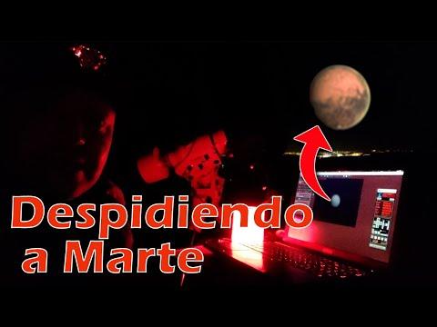 Salida astronómica express. Marte y la Luna.