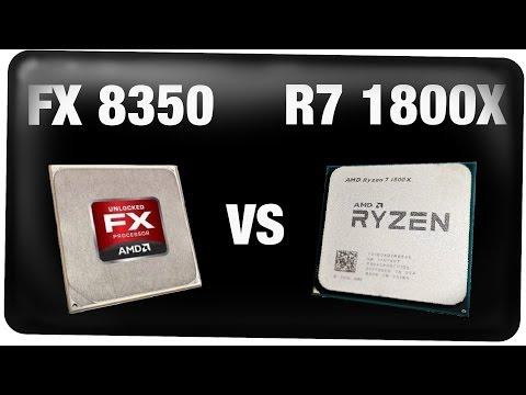 Hat es sich gelohnt? Reallife Test: AMD FX 8350 VS Ryzen 1800X