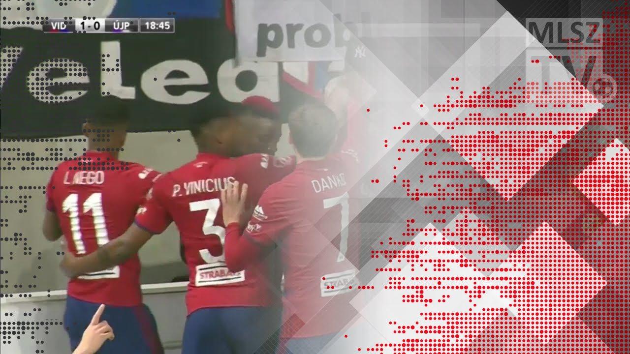 Scepovic Stefan gólja a Videoton FC - Újpest FC mérkőzésen