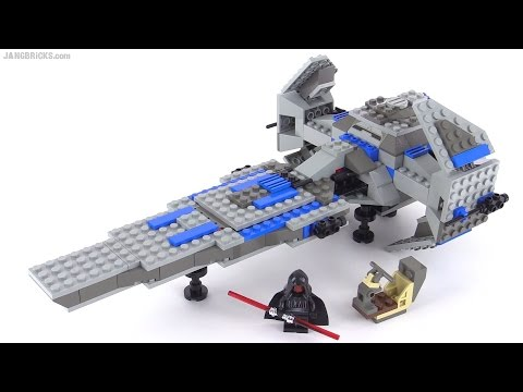 Lego star wars sith infiltrator from 1999 set 7151 youtube - Croiseur interstellaire star wars lego ...