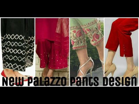 palazzo pants design (summer special)