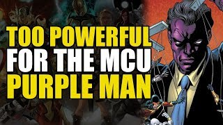 Too Powerful For Marvel Movies: The Purple Man | Comics Explained