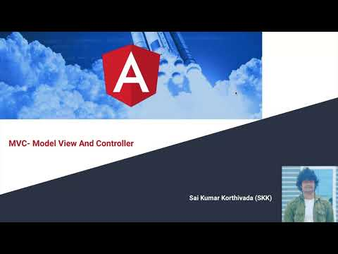 Model View Controller in Angular