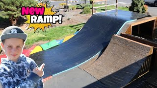 Building My New RESI RAMP! **First Ride!**