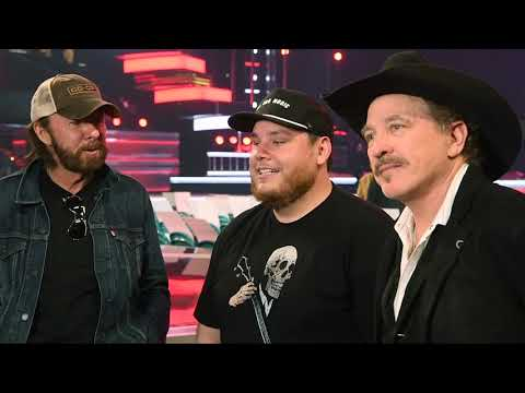Luke Combs Joins Kix Brooks And Ronnie Dunn As They Rehearse 'Brand New Man""