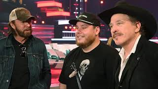 """Luke Combs joins Kix Brooks and Ronnie Dunn as they rehearse 'Brand New Man"""""""
