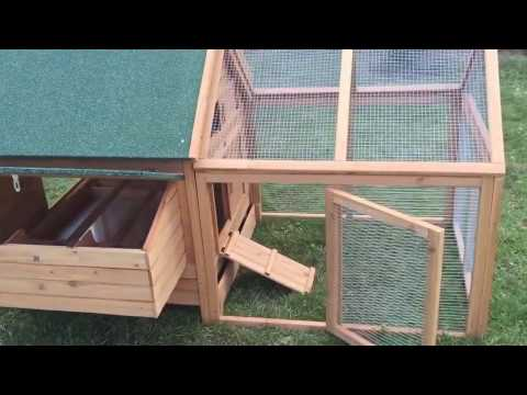 Chicken Coop Design - the Plymouth Rock Penthouse