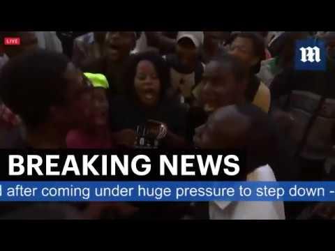 Euforia w Zimbabwe po rezygnacji Roberta Mugabe