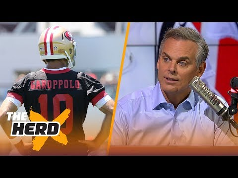 Colin Cowherd on Jimmy Garoppolo's comments about Tom Brady  NFL  THE HERD
