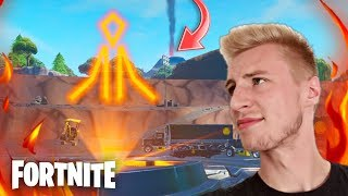 "🌋LOOT LAKE VULKAN EVENT😱⚠ Does it really happen today!? ""Fortnite German"
