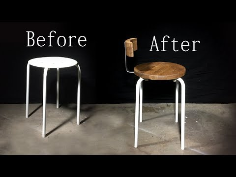 DIY | Upcycled Stool | Ikea Hack | Making It Yourself