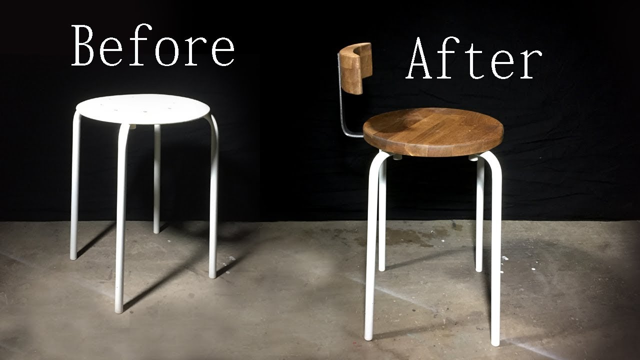 Diy Upcycled Stool Ikea Hack Making It Yourself
