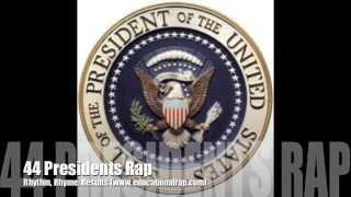 44 Presidents with lyrics