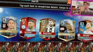 THE BEST ONE!!! INSANE NEW FIFA MOBILE PACKS & PLAYERS PULLED!! 92!   FIFA Mobile Soccer iOS