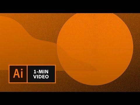 How To Create The Mezzotint Grain Effect In Illustrator | Adobe Creative Cloud
