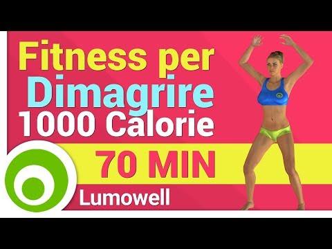 Fitness a Casa per Dimagrire con Musica – 1000 Calorie