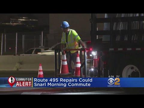 495 Construction Could Make For Tough Monday Commute