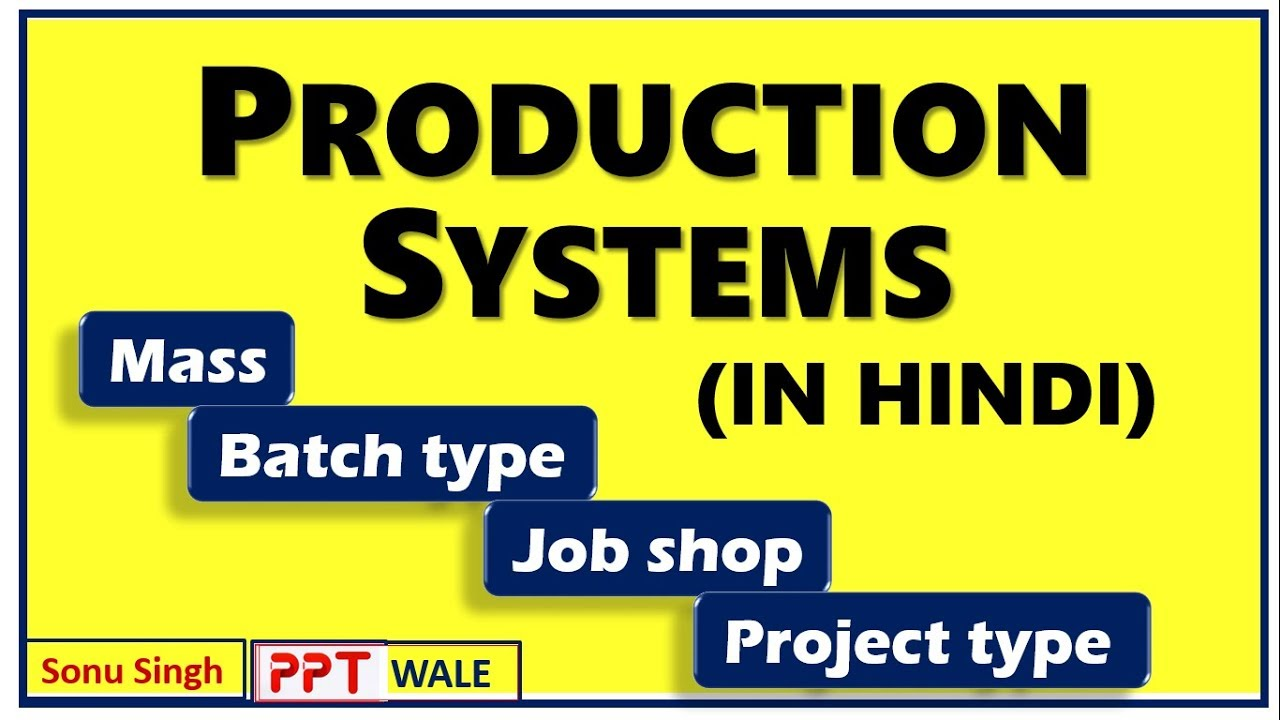 Manufacturing system ppt.
