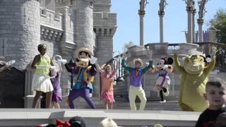 Fun performance at Disney's Magic Kingdom