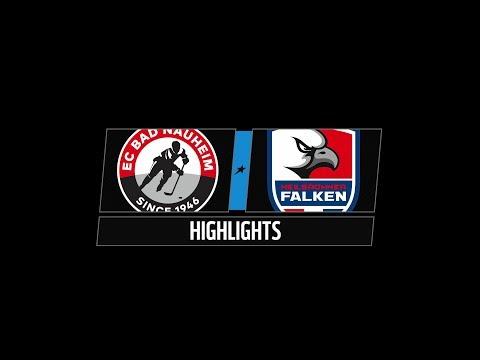DEL2 Highlights 26. Spieltag | EC Bad Nauheim vs. Heilbronner Falken