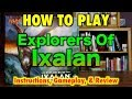 MTG - How To Play Explorers Of Ixalan - Instructions, Unboxing, and Magic: The Gathering Review