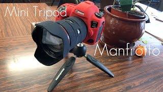 Must Have In your Camera Bag! - Manfrotto Mini Tripod - Pixi Evo - Demo / Review