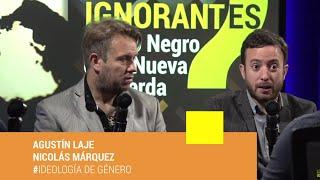 Agustín Laje y Nicolás Márquez en Los Ignorantes presentando el Libro Negro de la Nueva Izquierda