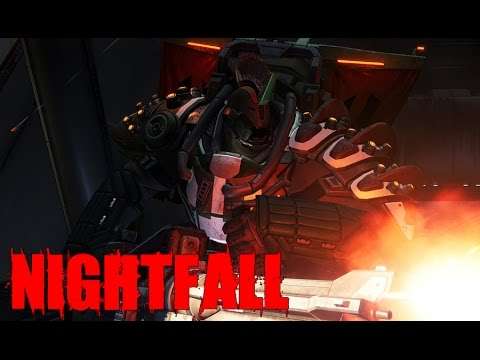 Destiny - Mars Nightfall (Easy Boss Fight Exploit) Valus Ta'aurc