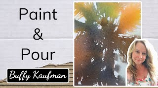 Painting Palm Trees in Watercolor Part 2