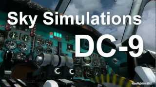 Sky Simulations DC-9 (Flight Simulator 2004) Part-1