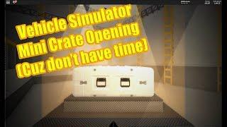 PDM Roblox Ich habe keine Zeit so mini Fahrzeug Simulator Kiste Öffnung