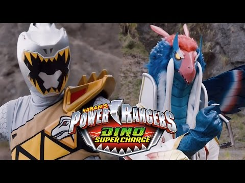 "Power Rangers Dino Super Charge - Silver Ranger's Identity: Zenowing (Episode 14 ""Silver Secret"")"