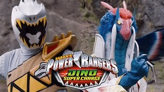 Dino Super Charge - Silver Ranger&#39s Identity: Zenowing  Power Rangers Official