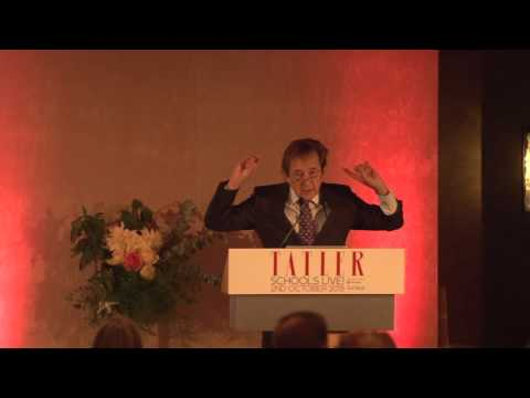 Tatler Schools Live 2015 - Sir Anthony Seldon's lecture on W
