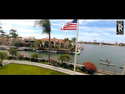 Naples Island Exclusive Aerial Tour - Lifestyles- Long Beach Million Dollar Real Estate Calif 90803